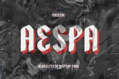 Aespa Font Product Image 1