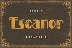 Web Font Escanor Font Product Image 1