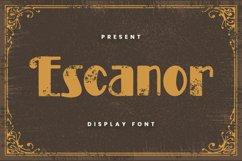 Escanor Font Product Image 1