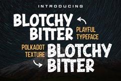 Blotchy Bitter - Playful Typeface Product Image 1