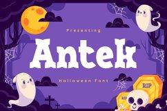 Antek Font Product Image 1