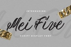 Mei Five Font Product Image 1