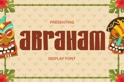 Abraham Font Product Image 1