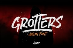 Grotters - Urban Font Product Image 1