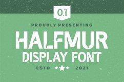 Halfmur Font Product Image 1