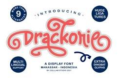 Drackorie - A Stunning Display Font Product Image 1