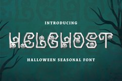 Helghost Font Product Image 1