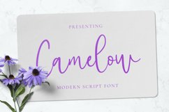 Camelow Font Product Image 1