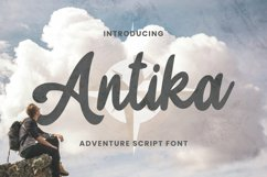 Antika Font Product Image 1