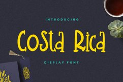 Costarica Font Product Image 1