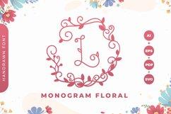 Monogram Floral Font Product Image 1