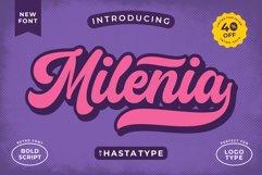 Milenia - Retro Bold Script Product Image 1