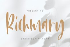 Richmary Font Product Image 1