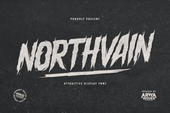 Northvain | Attractive Display Font Product Image 1