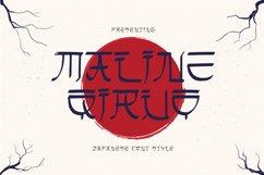 Maline Qiruo Font Product Image 1