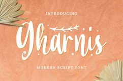 Gharnis Font Product Image 1