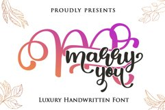 Marry You Product Image 1