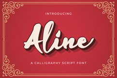 Aline - Handwritten Font Product Image 1