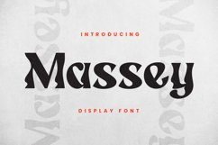 Massey Font Product Image 2