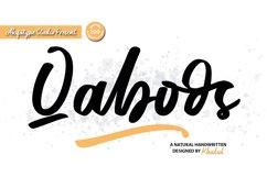 Qaboos - Handwritten Product Image 1