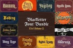 Blackletter Font Bundle Vol 2 Product Image 1