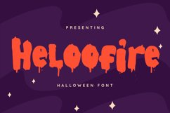 Heloofire Font Product Image 1