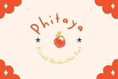 Phitaya - Sweet Handwritten Font Product Image 4