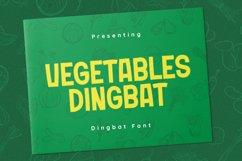 VegetablesDingbat Font Product Image 1