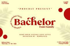 Bachelor Font Family - Vintage Bold Serif Font Feminine Styl Product Image 1