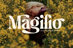 Magilio - A Chic Serif Fonts Product Image 1