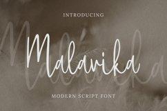 Malavika Font Product Image 1