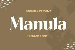 Manula Font Product Image 1