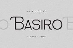Basiro Font Product Image 2