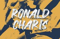 Ronald Charis - Textured Brush Font Product Image 1