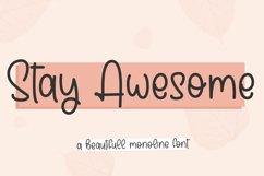 stay awesome Product Image 1