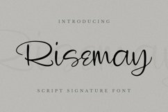 Risemay Font Product Image 2