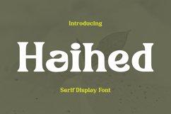 Haihed Font Product Image 1