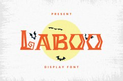 Laboo Font Product Image 1