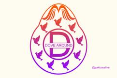 Dove Egg Monogram Product Image 1
