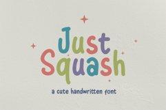 Just Squash   Cute Font Product Image 1