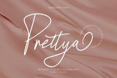 Prettya - Elegant Modern Script Product Image 1
