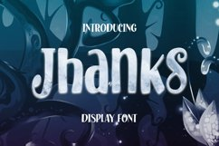 Jhanks Font Product Image 1
