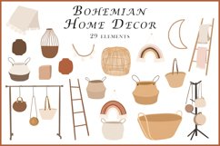 Abstract Bohemian Home Decor clipart Product Image 1