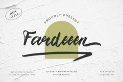 Fardeeen - Natural handbrush font Product Image 1