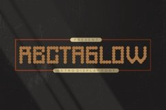 Rectaglow Font Product Image 1