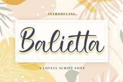 Balietta Product Image 1