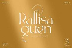 Rallisaguen - Modern Serif Typeface Product Image 1