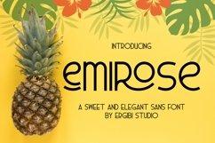 Emirose  Sweet&ElegantFont  Product Image 1