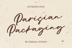 Parisian Packaging - Handwritten Font Product Image 1