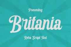 Britania Font Product Image 1